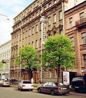 Гостиница Нева в Санкт-Петербурге, здание гостиницы